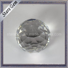 Shine White Christmas Gift Glass Ball